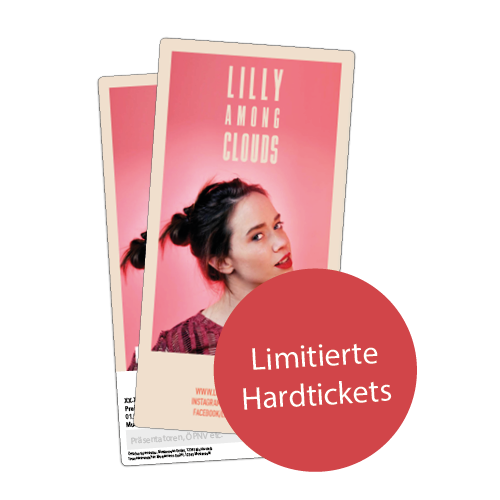 Exklusvive & limitierte lilly among clouds Hardtickets